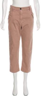 Brunello Cucinelli High-Rise Straight-Leg Jeans