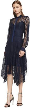 BCBGMAXAZRIA Beatryce Lace Handkerchief Dress