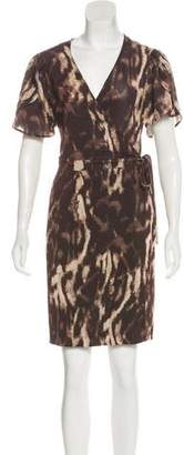Just Cavalli Short Sleeve Dress w/ Tags
