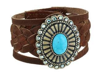 Leather Rock Dani Bracelet