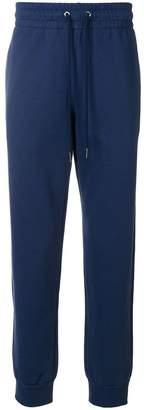 Versace drawstring waistband trousers