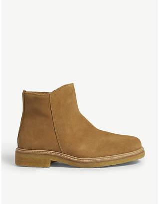 Sandro Zipped desert boots