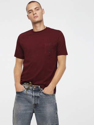Diesel T-Shirts 0BASU - Pink - S