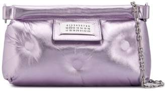 Maison Margiela numbers patch padded clutch