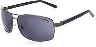 Tommy Hilfiger Gunmetal Vasquez Navigator Sunglasses