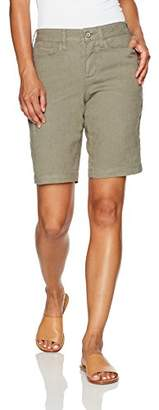 NYDJ Women's Petite Size Catherine Short In Stretch Linen