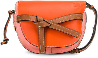 Loewe Gate Small Bag in Orange & Blossom | FWRD