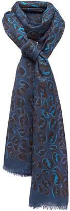 Fendi splash FF maxi stole scarf