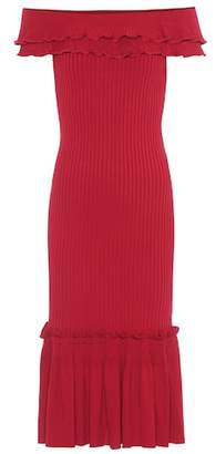 Jonathan Simkhai Rib-knit midi dress