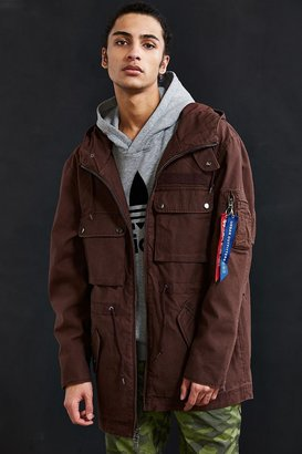 Alpha Industries + UO Long M-51 Parka Jacket $159 thestylecure.com