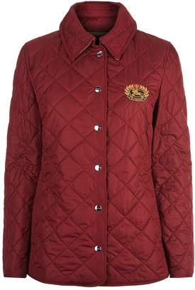 Burberry Quilted Logo Jacket