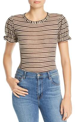 Free People Take One For The Team Puff-Sleeve Tee