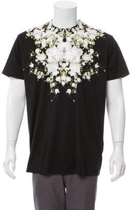 Givenchy 2015 Baby's Breath Print T-shirt