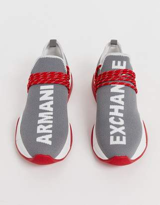 innovative design c8045 c9211 Armani Exchange running sneaker