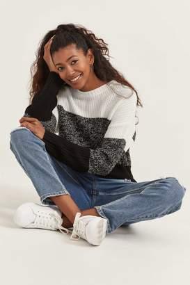 Ardene Color Block Sweater