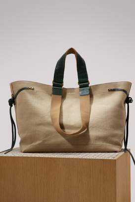 Isabel Marant Aslibe canvas bag