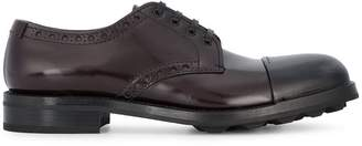 Prada toe cap derby shoes