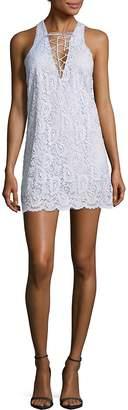 Lovers + Friends Women's Escape Lace Mini Dress