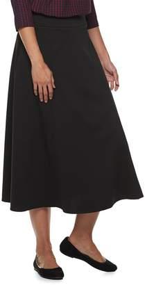 Dana Buchman Women's Pull-On Midi Skirt