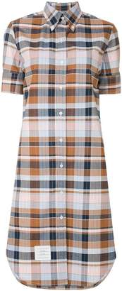 Thom Browne A-line Cotton Shirtdress
