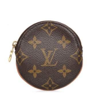 Louis Vuitton Coin Purse Round Monogram Brown