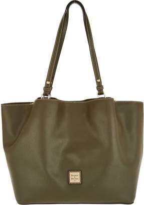 Dooney & Bourke Saffiano Leather Shoulder Bag -Flynn