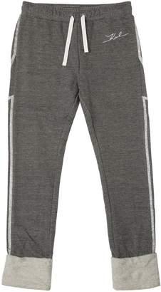 Karl Lagerfeld Glitter Stars Cotton Sweatpants