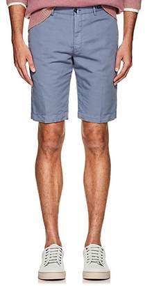 Pt01 Men's Linen-Cotton Bermuda Shorts - Gray