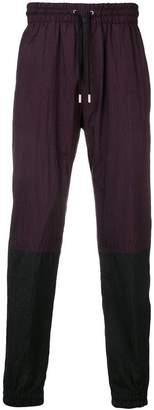 Givenchy Matt nylon track trousers