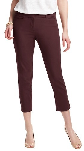LOFT Zoe Skinny Cropped Pants in Bi-Stretch