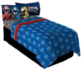 Power Rangers Saban Ninja Steel Twin Sheet Set