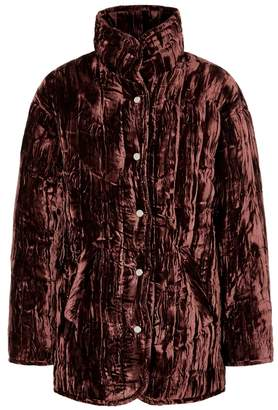 Collina Strada Shelter Padded Velvet Jacket