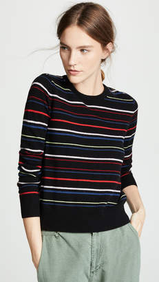 Equipment Shirley Stripe Cashmere Sweater