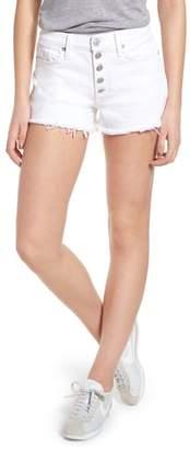 Hudson Zoeey Button Fly High Waist Denim Shorts