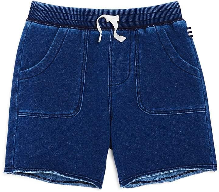 Boys' Indigo Terry Shorts - Little Kid