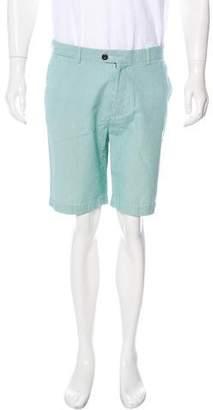 Jack Spade Striped Flat Front Shorts