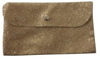 Bareminerals Bare Escentuals Gold Glitter Sparkle Cosmetic Bag.