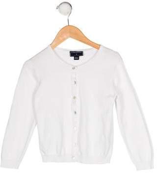 Oscar de la Renta Girls' Button-Up Cardigan