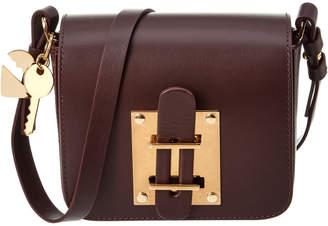 Sophie Hulme Darwin Mini Leather Crossbody