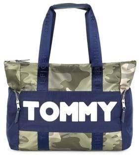 Tommy Hilfiger Tommy Nylon Camo Tote