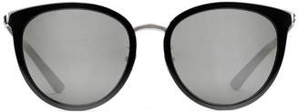 Gucci Specialized fit round-frame acetate and metal sunglasses