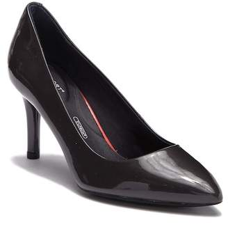 Rockport Plain Patent Leather Pointed Toe Pump