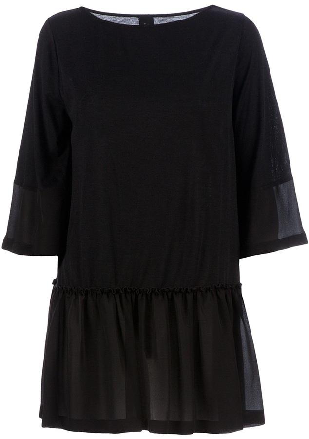 Twisty Parallel Universe flared dress