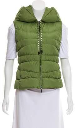 Missoni M Hooded Puffer Vest