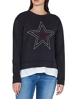 Mavi Jeans Paula Long Sleeve Sweat