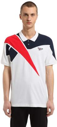Retro Cotton Piqué Polo Shirt
