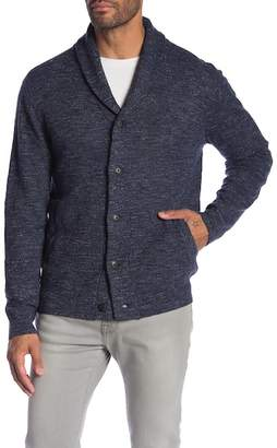 Grayers Cabana Shawl Collar Knit Cardigan
