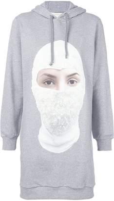 Ih Nom Uh Nit Future print long hoodie