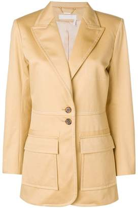 Chloé longsleeved buttoned up jacket