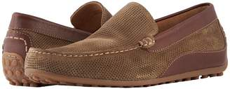 Florsheim Oval Perf Driver Men's Slip-on Dress Shoes